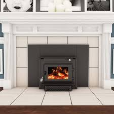 Insert For Wood Burning Fireplace by Wood Burning Colonial Fireplace Insert With Blower Tr004