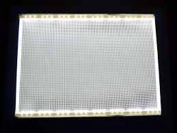 led light panels lithophane lights