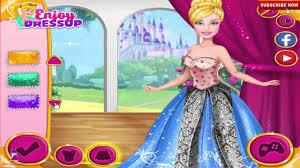barbie princess design fashion dress game girls baby