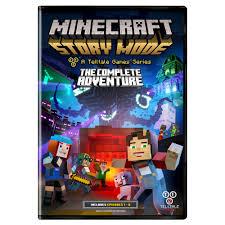 captainsparklez garage minecraft story mode the complete adventure pc walmart com