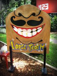 homemade loose tooth fun game creative productions pinterest