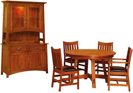 Mission Oak Dining Chairs Mission Style Dining Room Set Interior Design
