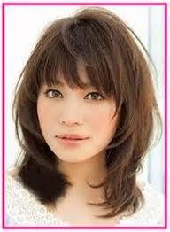 layered medium lenght hair with bangs 80 sensational medium length haircuts for thick hair thicker