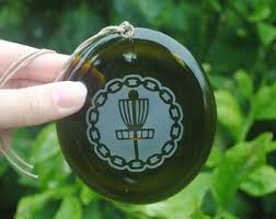 frisbee ornament etsy