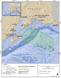 Gulf Of Alaska Map Gulf Of Alaska Eis U003e The Navy U0027s Proposed Action