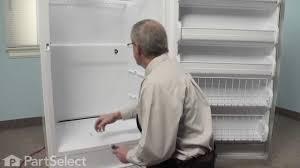 refrigerator repair replacing the freezer thermostat frigidaire