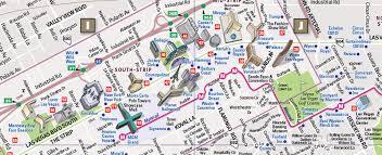 las vegas blvd map las vegas map by vandam las vegas streetsmart map city