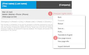 html email signature setup in outlook 2007