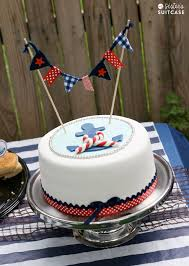 nautical baby shower cakes nautical theme baby shower ideas my s suitcase packed