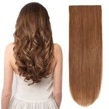 Brown Hair Extensions by Bhf Clip In Hair Extensions 20 U0027 U0027 Chestnut Brown 6 120g