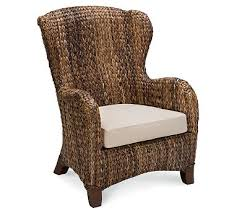 Upholstered Wingback Chair Upholstered Wingback Chair Pottery Barn