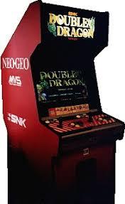 Neo Geo Arcade Cabinet Double Dragon Neogeo Videogame By Technos
