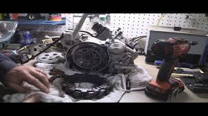 yz125 tear down part 3 removing 2 stroke clutch clutch basket