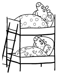 peppa pig coloring pages print free color
