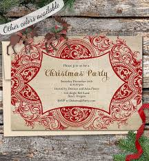 14 best holiday party invitations images on pinterest etsy shop