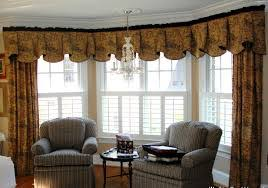 window treatments for large windows living room valance curtains