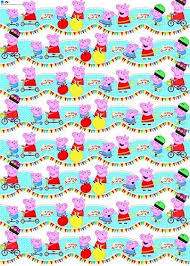rolls of wrapping paper peppa pig gift wrap wrapping paper birthday party wrap children 2