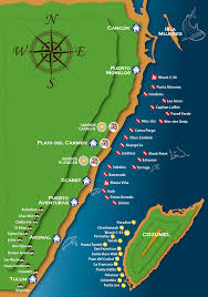 Map Of Cozumel Mexico by Underwater Photography Internships Underwater Courses Dive Charters