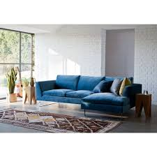 The  Best Blue Velvet Sofa Ideas On Pinterest Navy Blue - Living room design blue