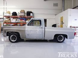 Classic Chevy Trucks 80s - lowering a 1973 1987 chevrolet truck rod network