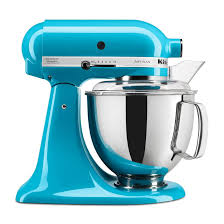Purple Kitchenaid Mixer by Kitchenaid Ksm150pscl Artisan Series 5 Quart Stand Mixer Crystal Blue