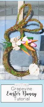 easter bunny wreath how to make a grapevine bunny wreath paint yourself a smile