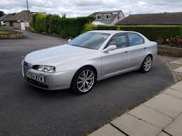 used 2004 alfa romeo 166 t spark 16v lusso for sale in west yorks