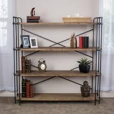 Industrial Bookcases Rustic Bookshelves U0026 Bookcases Shop The Best Deals For Nov 2017