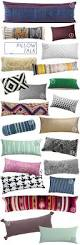 Large Sofa Pillows Back Cushions by The Extra Long Pillow Emily Henderson