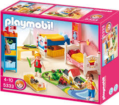 Esszimmer Playmobil Amazon De Playmobil 5333 Fröhliches Kinderzimmer