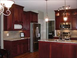design contemporary red painted kitchen cabinets stainless steel