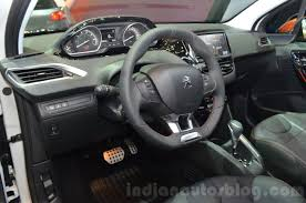 peugeot interior peugeot 208 roland garros interior indian autos blog
