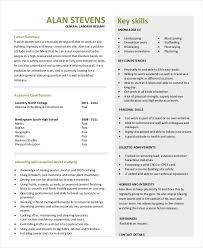 Resume Template For Construction Construction Resume 7 Construction Resume Objectives Parts Of