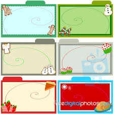christmas recipe cards stock photo royalty free image id 100120731