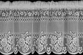 Black Lace Valance Domesticlacelacepatterns