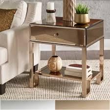 silver nightstands u0026 bedside tables shop the best deals for dec