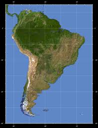 The Map Of South America by South America Detailed Topographical Map Detailed Topographical