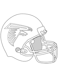 nfl football helmet coloring pages atlanta falcons helmet coloring page free printable coloring pages