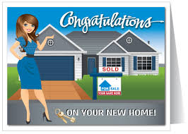 congrats on your new card custom real estate congratulations card 15270 harrison