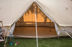 Bell Tent Awning Emperor Bell Tent 100 Canvas Zipped In Groundsheet By Bell Tent