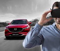 new mazda suv mazda brings the all new mazda cx 5 and virtual reality test