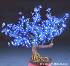 indoor small color changing led simulation bonsai trees for sale