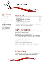 hair stylist resume exles sle resumes for hairstylist cosmetologist hairdresser resume