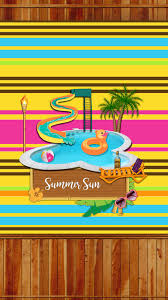 dazzle my droid freebie summer fun wallpaper set