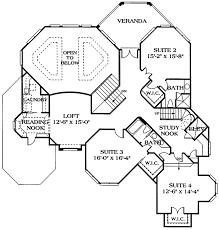 mediterranean floor plans mediterranean style house plan 4 beds 5 5 baths 7017 sq ft plan