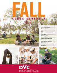 Dvc Map Dvc Fall Class Schedule By Diablo Valley College Issuu