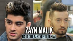 zayn malik haircut u0026 style youtube