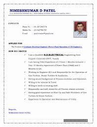 free download resume format for electrical engineers 55 lovely stock of resume format for freshers mechanical engineers