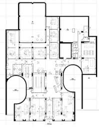 plan bureau de travail réhabilitation pour les bureaux de la sla 15 à ciel