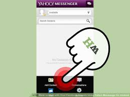 chat android how to chat with your friends using yahoo messenger for